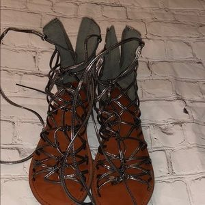 American Eagle outfitters gladiator flats